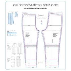Childrenswear Unisex Trouser Blocks - Chart 9