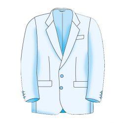 Menswear Basic Formal Jacket Block Pattern - Figure 3