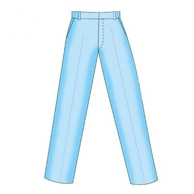 Menswear Trouser with Pockets Block - Figure 4