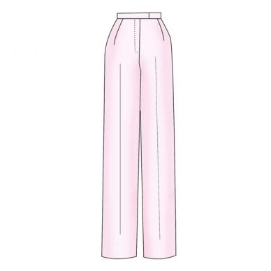 Womenswear Basic Trouser Block Pattern - Figure 2