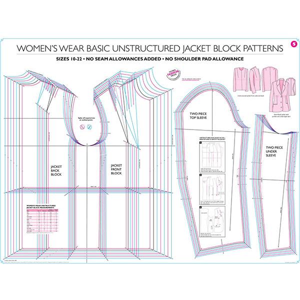 Buy Women\'s Basic Unstructured Jacket Block Online