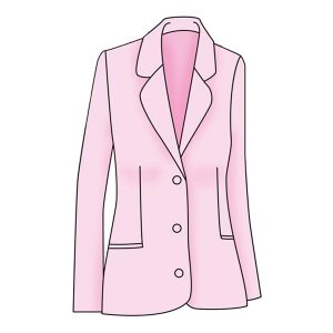 Womenswear Basic Unstructured Jacket Block Patterns - Figure 5