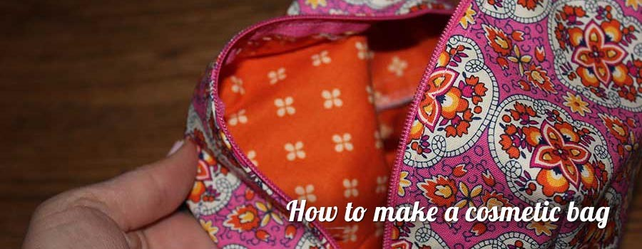 Project Space - How to make a cosmetic bag