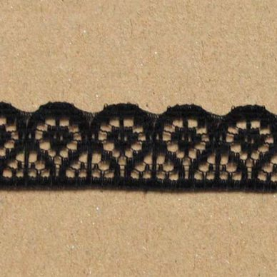 Lace Trims - FL191 (black)