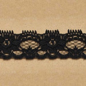 Lace Trims - FL25 (black)