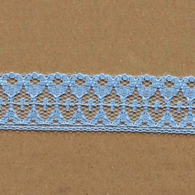 Lace Trims - FL27 (baby blue)
