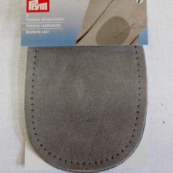Prym Leatherette Patches - Grey