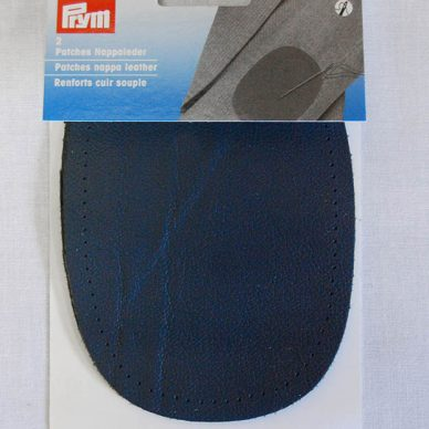Prym Nappa Leather Patches - Dark Blue