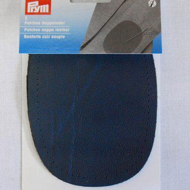 Prym Nappa Leather Patches - Dark Blue