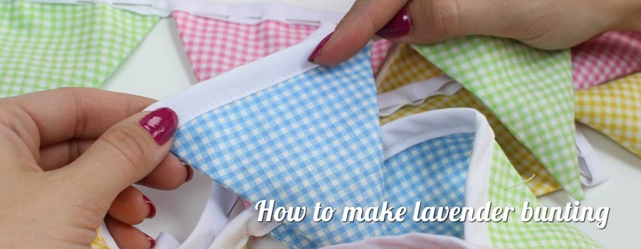 How to make Lavender Bunting