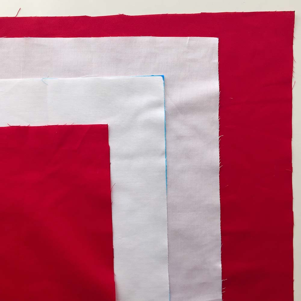 Cut two rectangles