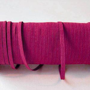 Flat Elastics 5mm - Pink