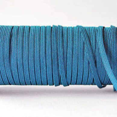 Flat-Elastics-5mm-blue-Willliam Gee UK