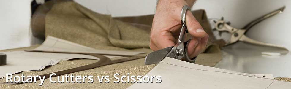 Rotary Cutters vs Scissors