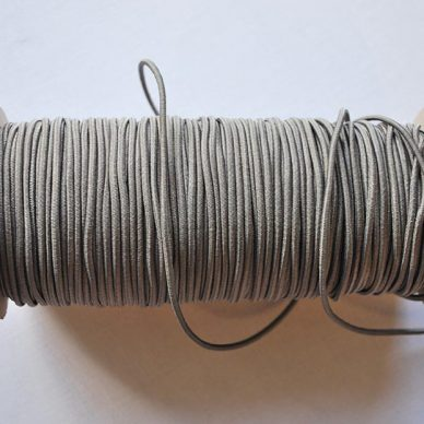 Round Elastic - 2mm - Grey