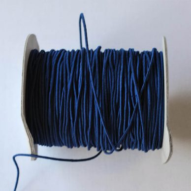 Round Elastic - 2mm - Navy