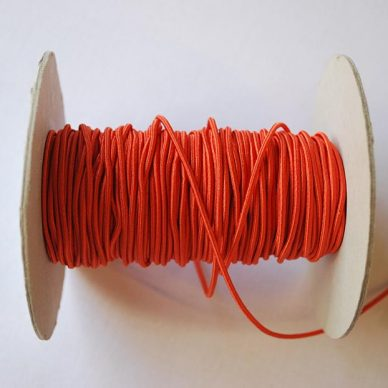 Round Elastic - 2mm - Orange