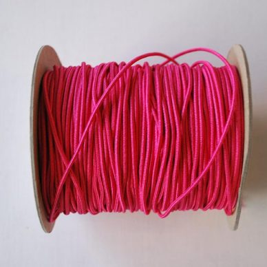 Round Elastic - 2mm - Pink