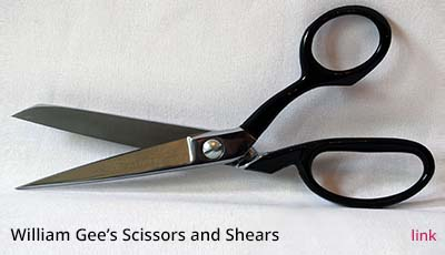 Scissors and Shears by William Gee