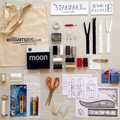 Sewing Bundle B - William Gee Standard Kit