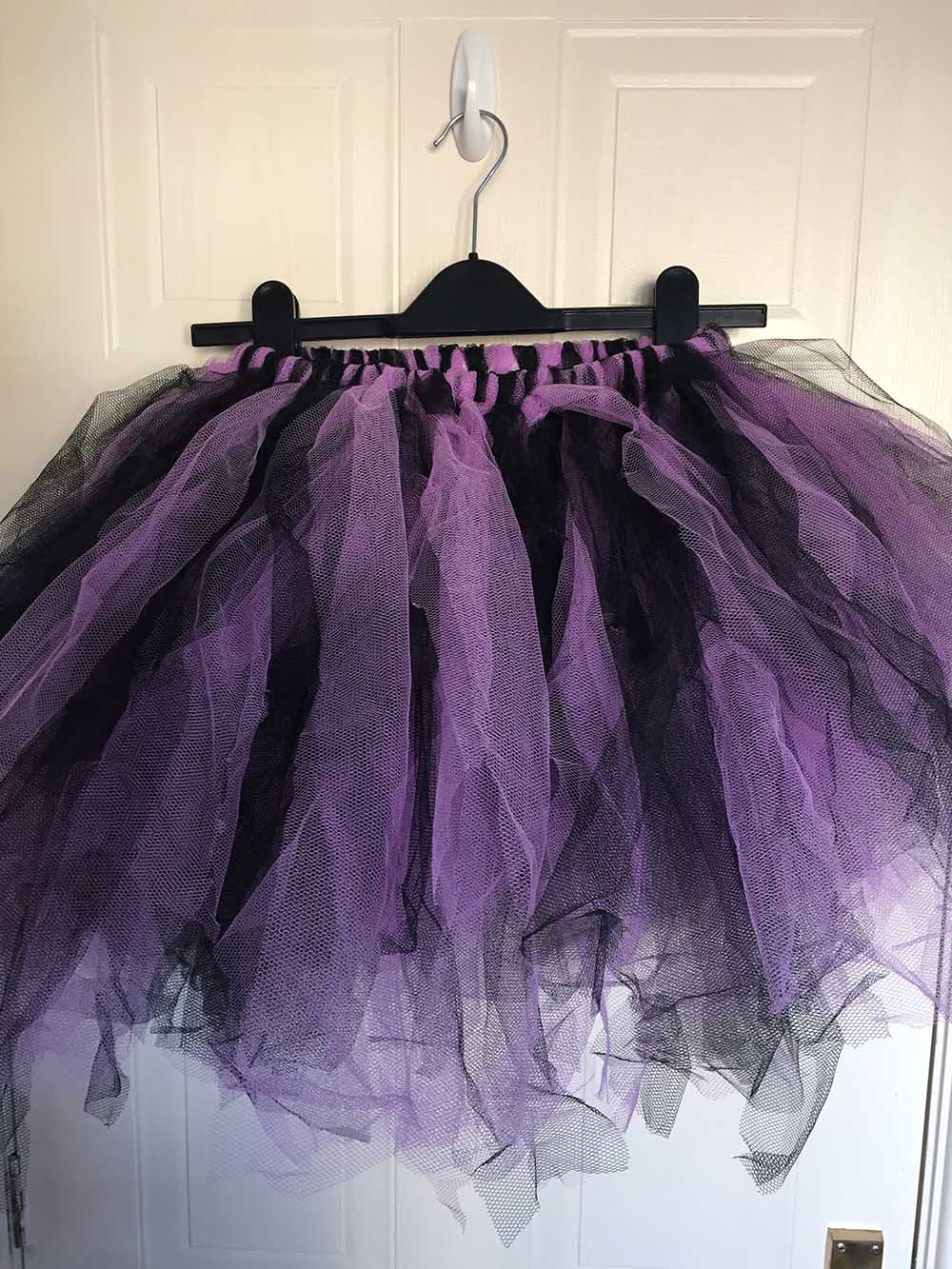 Tutu Dress Net finished piece