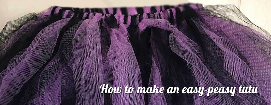 how to make an easy peasy tutu