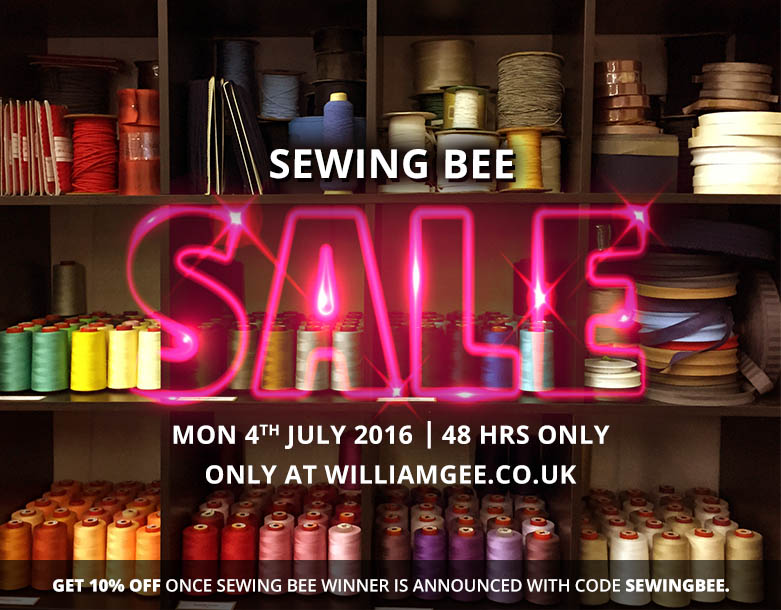 Sewing Bee Flash Sale