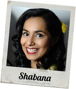 Shabana from the Vintage Corner at William Gee