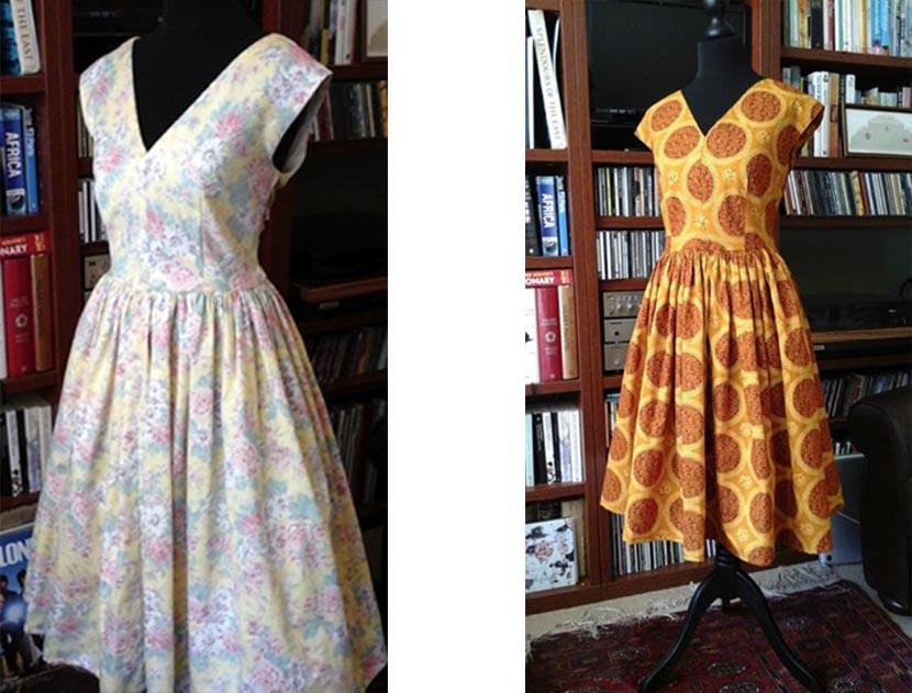 Vintage Dresses made by Shabana