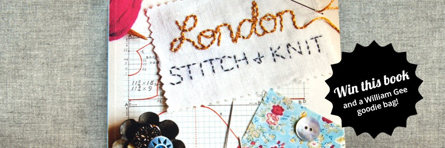 win a copy of London stitch and knit