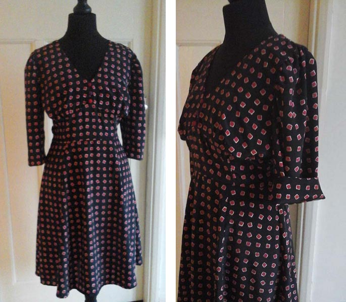 Project Space: How to make a 1940s Tea Dress