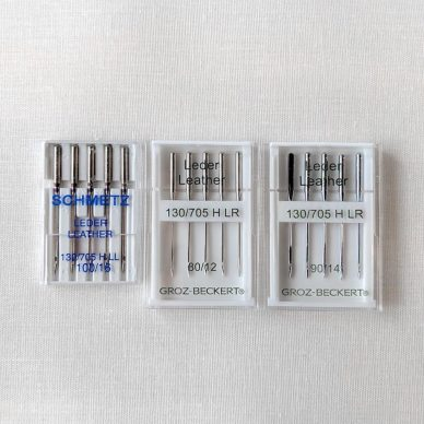 Domestic Machine Leather Needles - William Gee UK