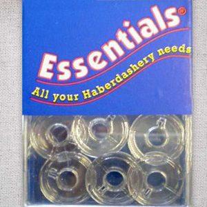 Essential Domestic Bobbins - Plastic
