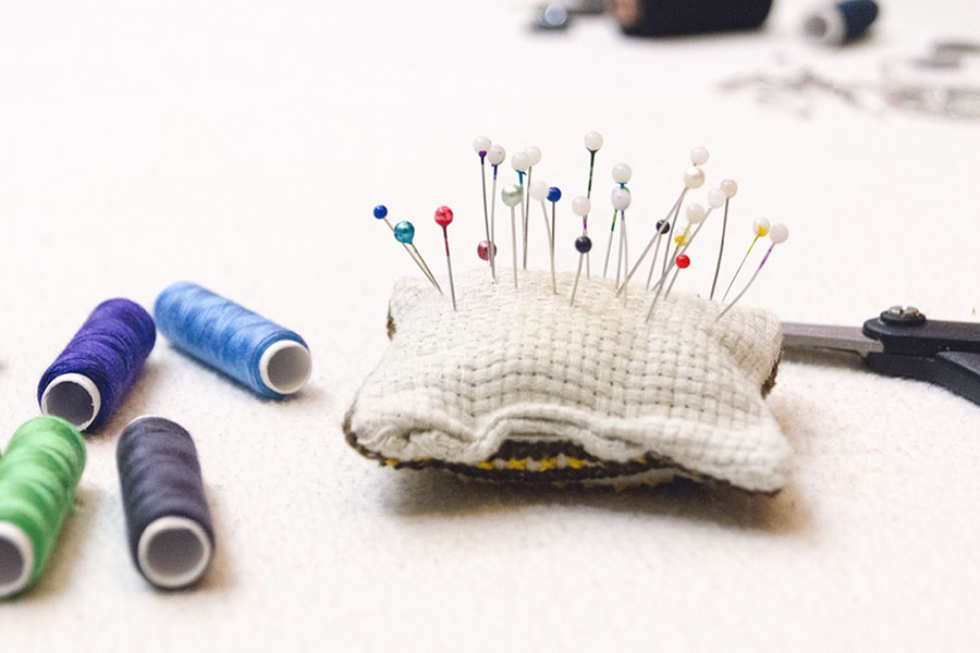 Learn about sewing