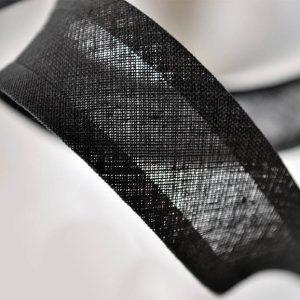 Bias binding in Black sold online at William Gee UK