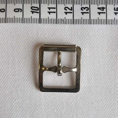 General Buckle with Prong 19mm - NIckel Plated