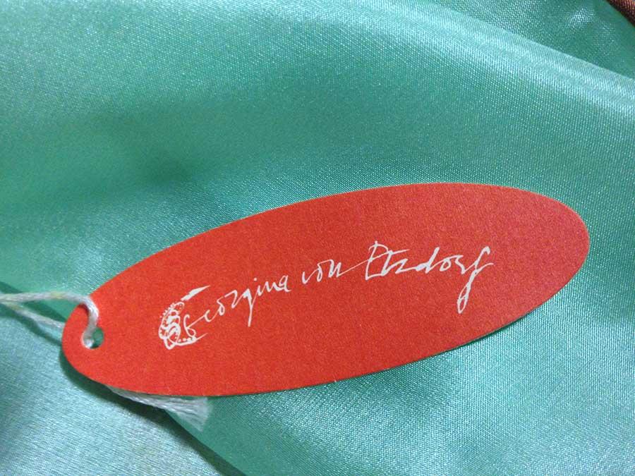 Georgina von Etzdorf label