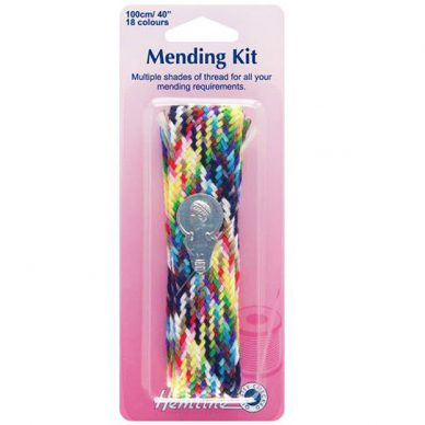 Hemline Mending Kit with Needle Threader
