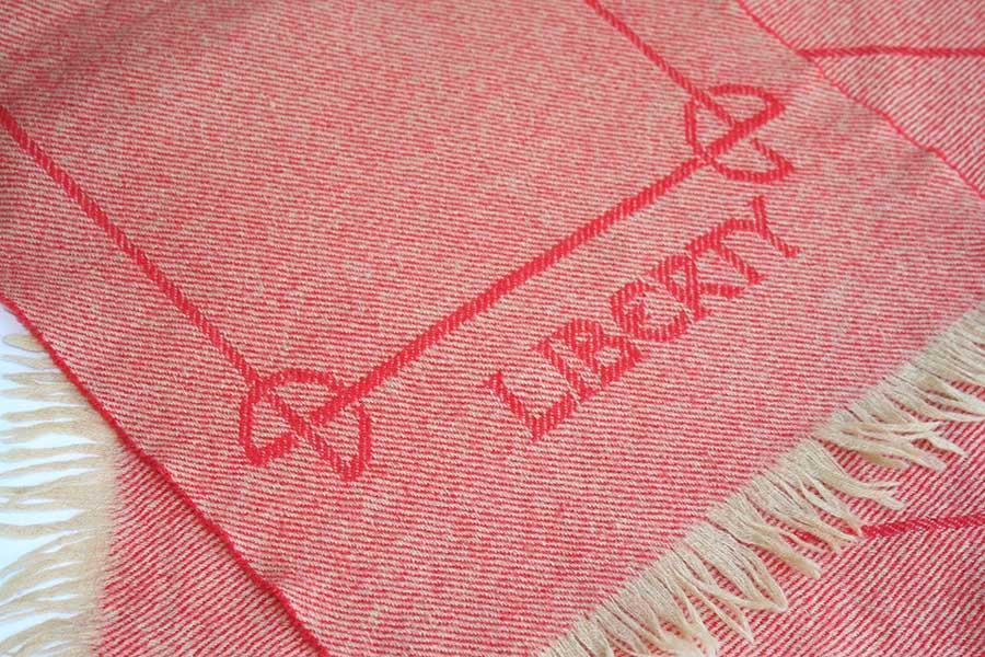 Liberty wool scarf