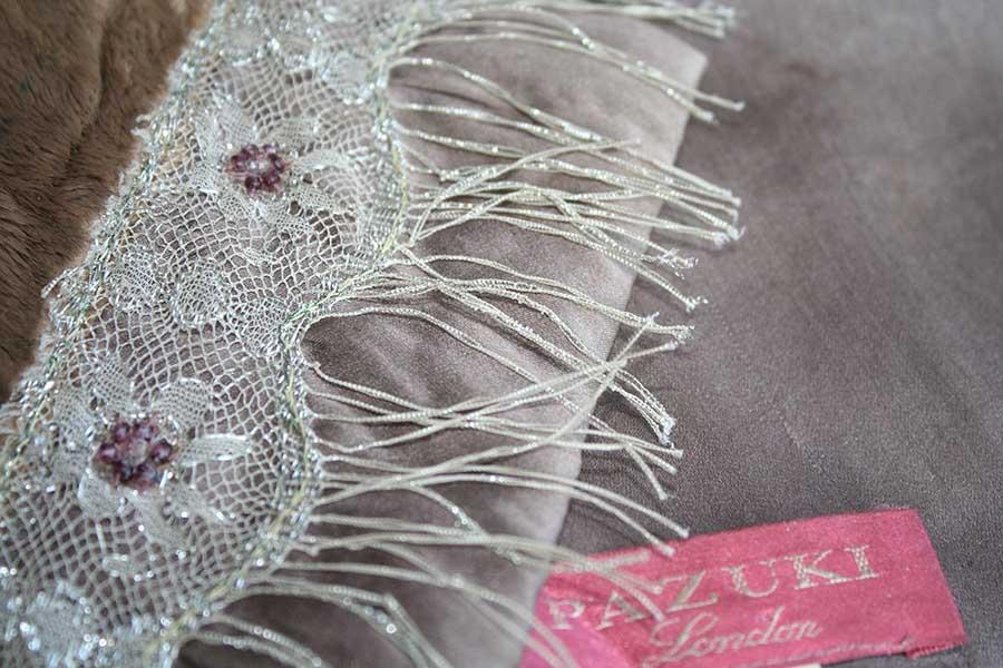 Pazuki scarf - close up