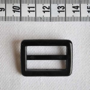 Plastic Slider 25mm - Black