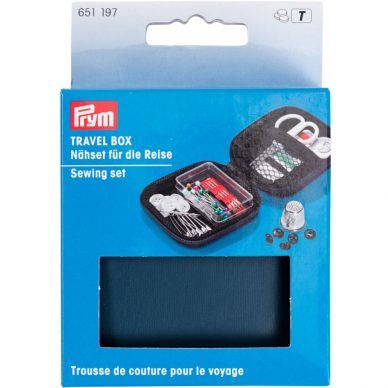 Prym Travel Box Sewing Set 651197 - William Gee UK