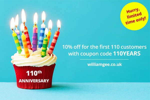 110th anniversary of William Gee