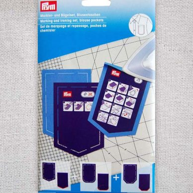 Prym Marking and Ironing Set - Blouse Pockets - 611935