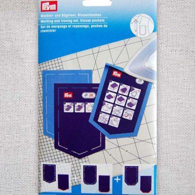 Prym Marking and Ironing Set - Blouse Pockets - 611935