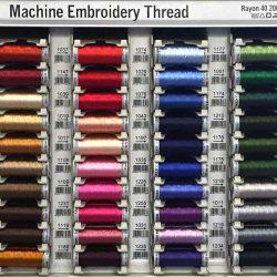 Gutermann Sulky Embroidery Thread Shade Card