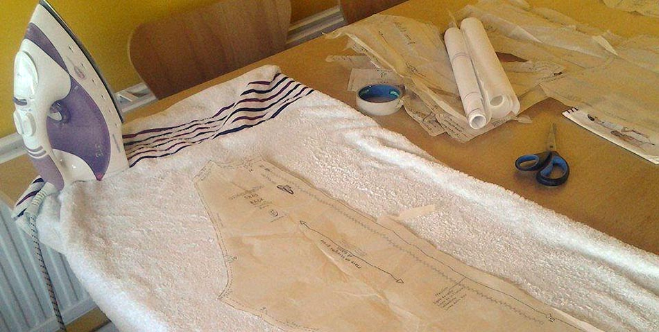 Learn to hack your dressmaking patterns at William Gee