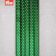 Prym Polka Dotted Satin Ribbon 6mm - Green