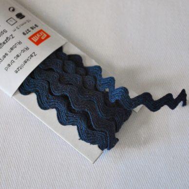 Prym Ric Rac Braid 10mm - Blue