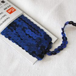 Prym Sequin Trimming - 6mm in Blue